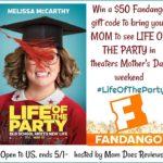 #Win $50 Fandango GC to see #LifeOfTheParty