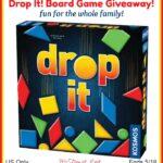 Drop It! Board Game Giveaway!