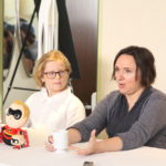 The Voices Behind Incredibles 2 Kids Huck Milner and Sarah Vowell #Incredibles2Event
