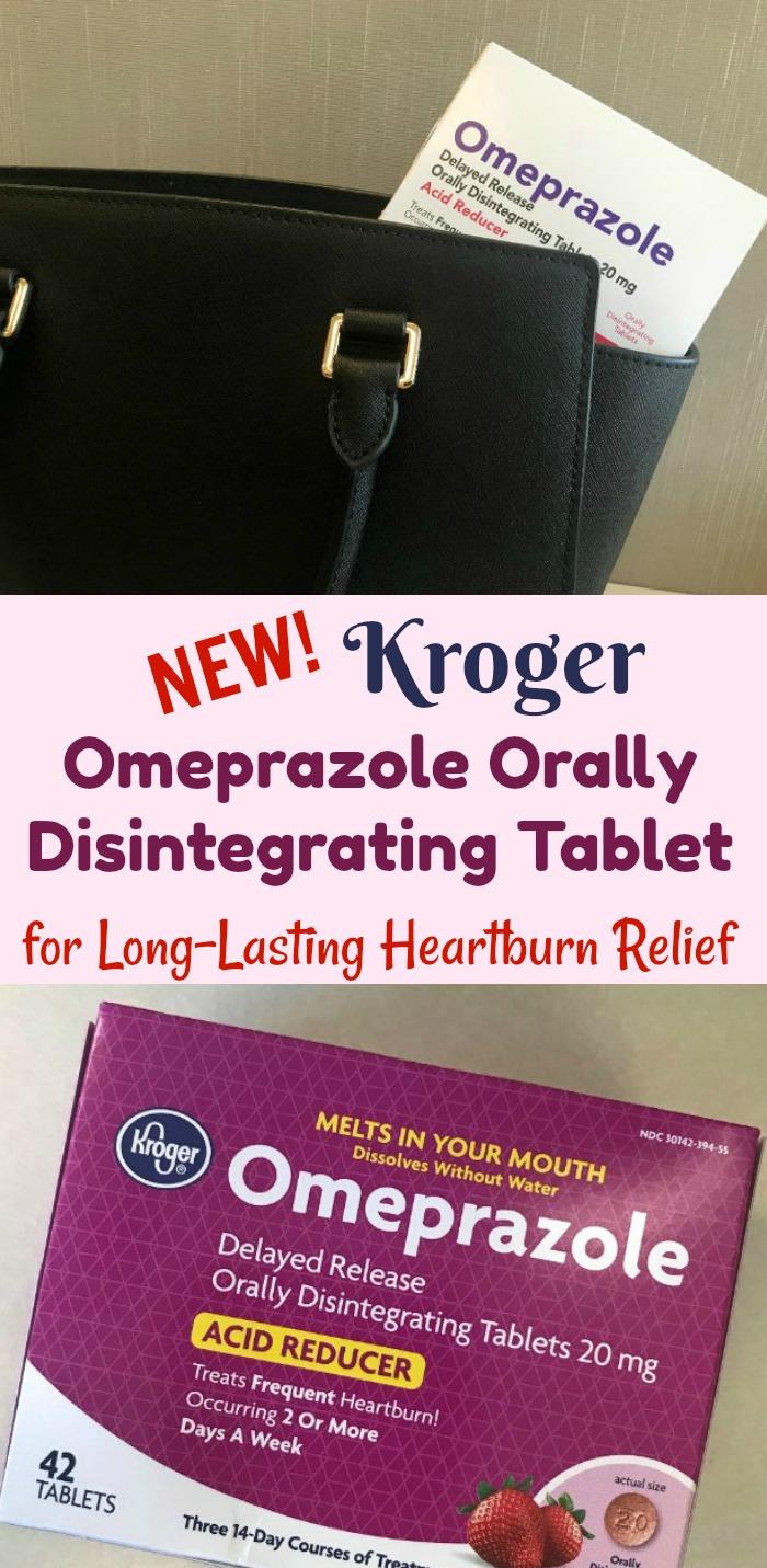 NEW Kroger Omeprazole Orally Disintegrating Tablet for Long-Lasting Heartburn Relief