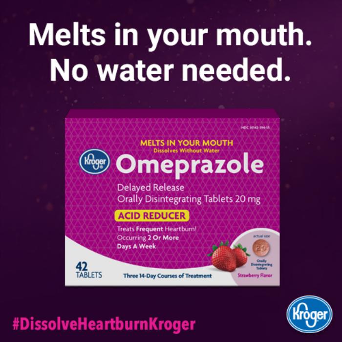 Kroger Omeprazole Orally Disintegrating Tablet