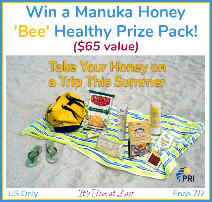 Win a Manuka Honey 'Bee' Healthy Prize Pack ($65 value)!