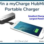 Win a myCharge HubMini Portable Charger!