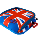 Celebrate the New Royal Family with the BubbleBum Union Jack Booster Seat