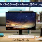 #Win a BenQ Screenbar e-Reading Lamp $99