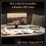 Enter to #Win BenQ ScreenBar e-Reading LED Task Lamp