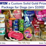 Custom Solid Gold Prize Package for Dogs (arv $100) Giveaway!