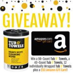 Tub O' Towels & Amazon Prize Package Giveaway