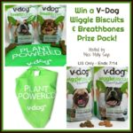 V-Dog Wiggle Biscuits & Breathbones Prize Pack Giveaway!