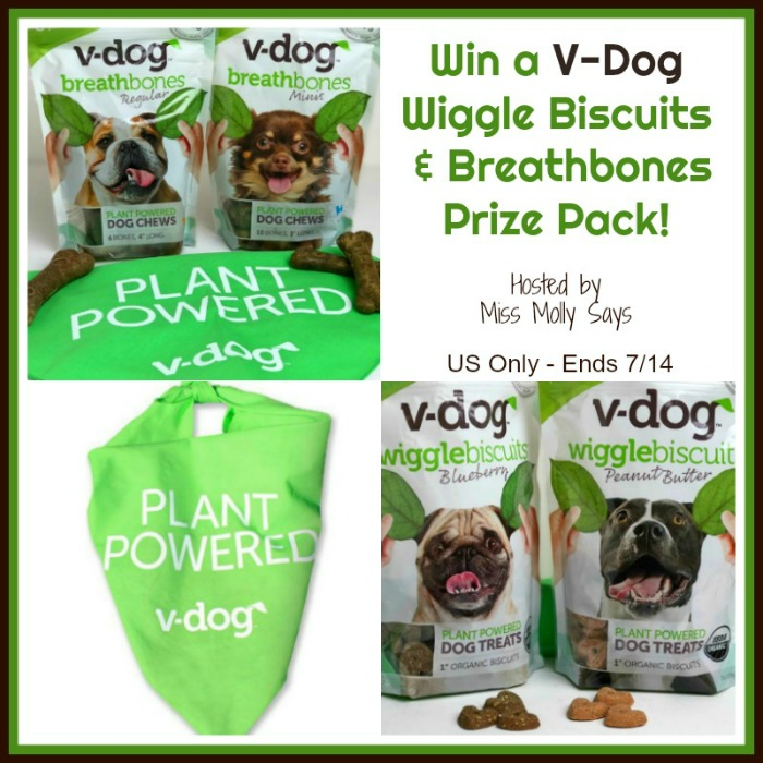 V-Dog Giveaway button