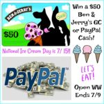 #Win $50 Ben & Jerry's GC or PayPal Cash