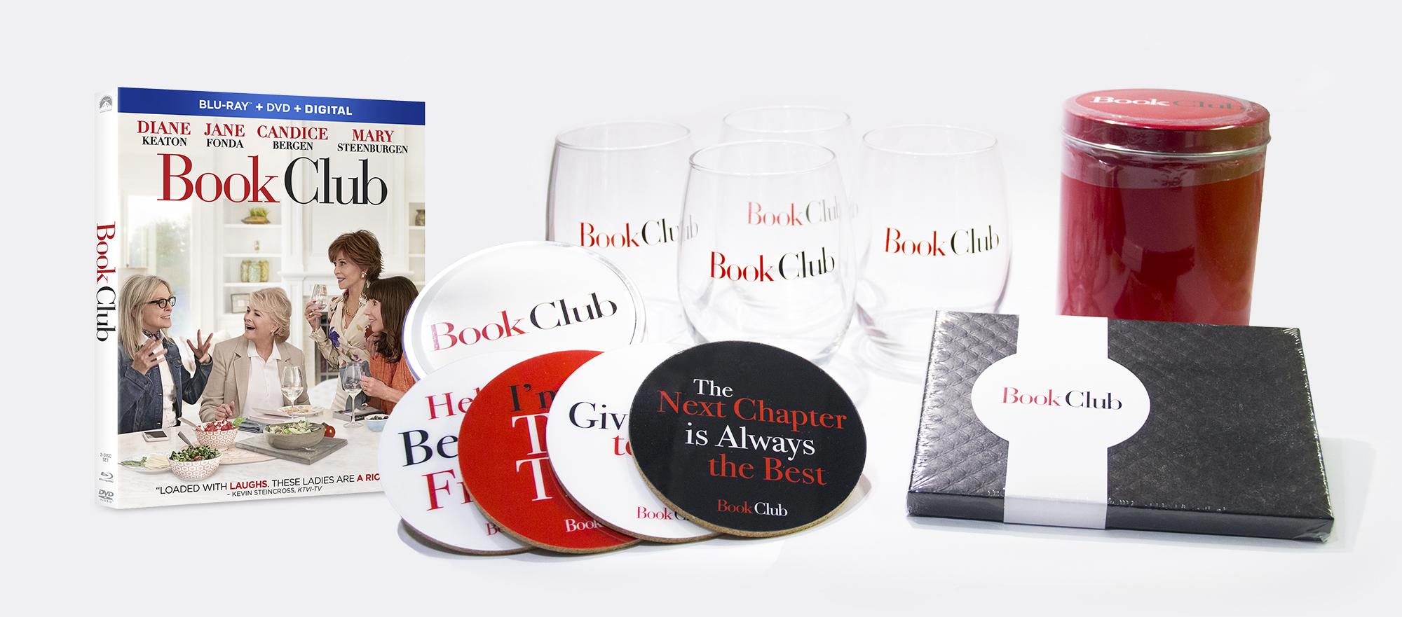 BOOK CLUB Now Available on DVD/Blu-Ray #BookClubMovie - It's