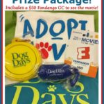 DOG DAYS Prize Package Giveaway including $50 Fandango Gift Card to see the movie! #DogDays