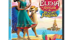 Elena of Avalor: Realm of the Jaquins on DVD August 7th