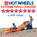 Step2 Hot Wheels Extreme Thrill Coaster Giveaway