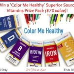 Win a Color Me Healthy Superior Source Vitamins Prize Pack ($70 value)! #SuperiorSource