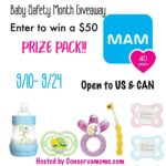 $50 MAM Baby Prize Pack Giveaway