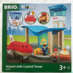 Imagine Travel to Places Far & Wide with BRIO World Airport Control Tower for Kids #MegaChristmas18