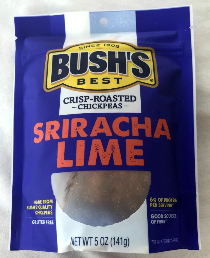 Bush's Best Crisp-Roasted Chickpeas Sriracha Lime