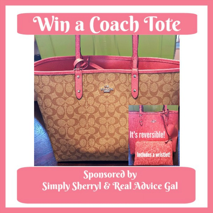 Win a Coach Bag, Open USA, Ends 10 30 - It s Free At Last d700cc746b