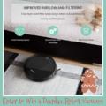 Deenkee Robotic Vacuum Cleaner Giveaway