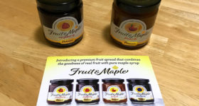 Sweetest Stocking Stuffers Gluten Free Fruit & Maple Spread by Polaner #MegaChristmas18