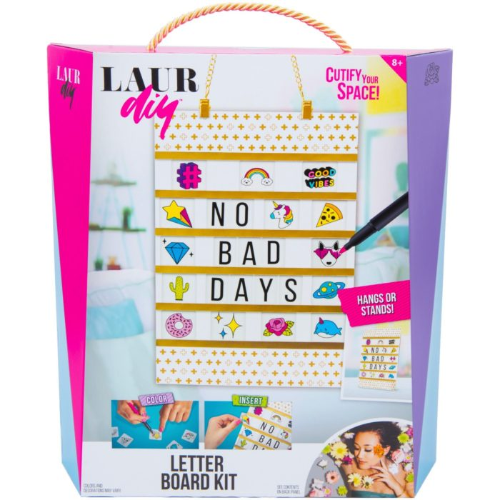 Give the Gift of Creativity with LaurDIY Craft Kits from ...