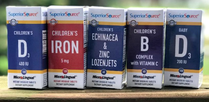 Celebrating National Healthy Children's Month with Superior Source Vitamins for Kids #SuperiorSource