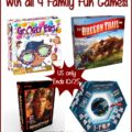#Win 4 Family Fun Games! #MEGAChristmas18