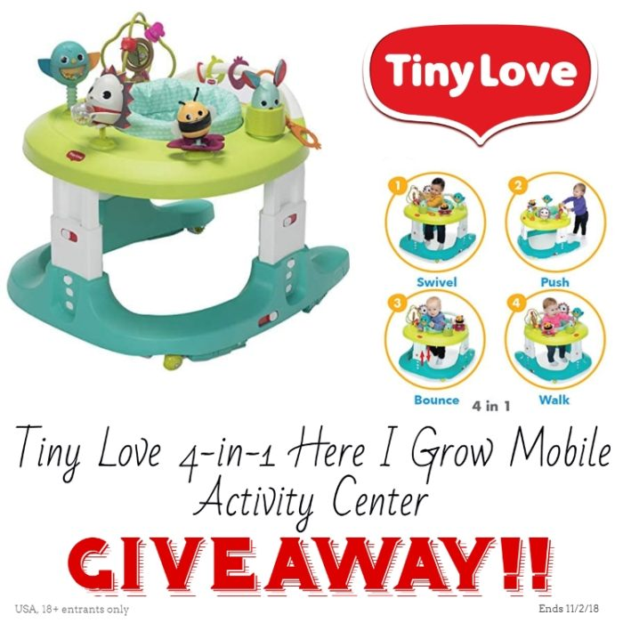 Win Tiny Love 4-in-1 Here I Grow™ Mobile Activity Center