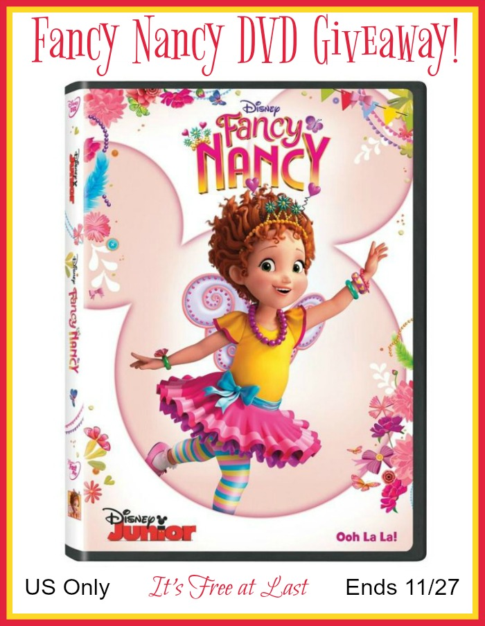 Fancy Nancy DVD Giveaway