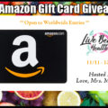 All-New $50 Amazon Gift Card Giveaway!