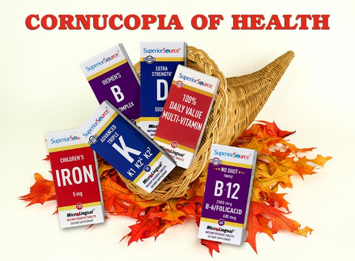Superior Source Cornucopia of Health