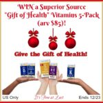 Superior Source Gift of Health Vitamins Prize Pack giveaway