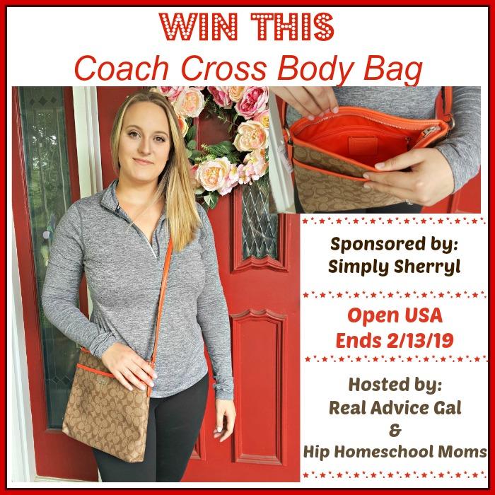 Coach Cross Body Purse Giveaway