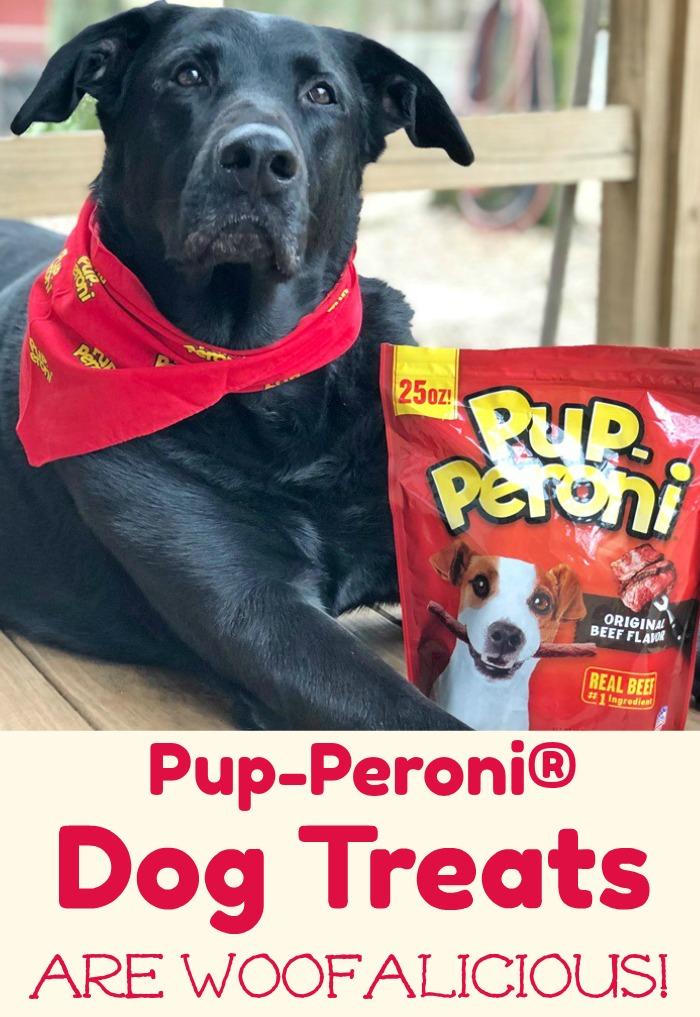 Pup-Peroni® Dog Treats are Woofalicious! #WOOFYEAH