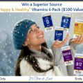 "Win a Superior Source ""Happy & Healthy"" Vitamins 6-Pack ($100 Value)! #SuperiorSource"