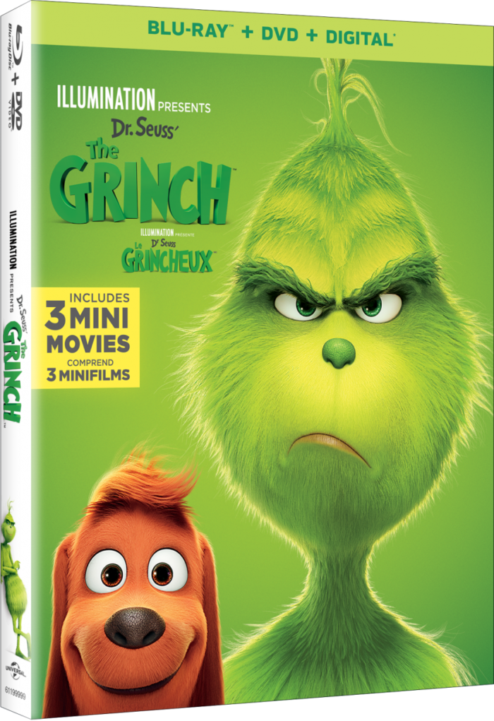 Win The Grinch prize Pack