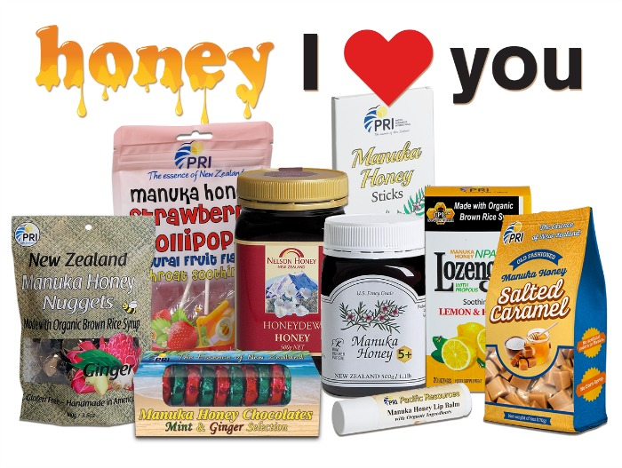 Show Your Honey You Love Them with Delicious Manuka Honey Products! #ManukaHealth #ShopPRI