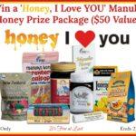 Win a 'Honey, I Love YOU' Manuka Honey Prize Package ($50 Value)! #ManukaHealth #ShopPRI