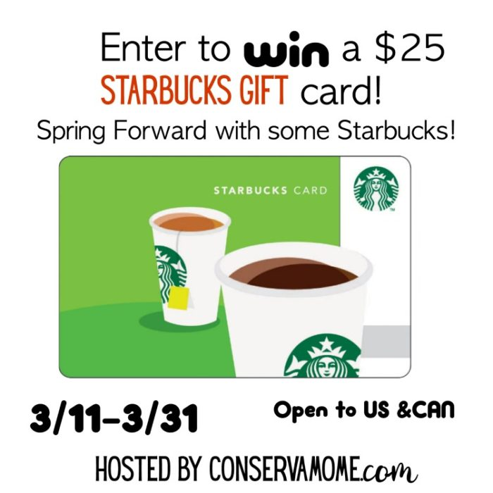 #Win $25 Starbucks GC