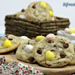 Malt easter egg cookies