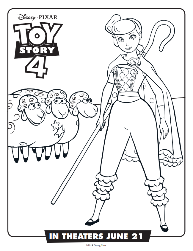 Toy Story 4 Free Activity Sheets and Final Movie Trailer ...