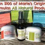 Win Marie's original formula skin care